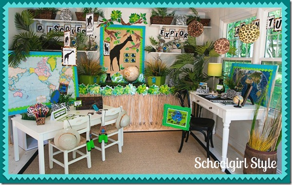 Classroom Decorating Ideas With Zebra Print ~ Theme aaron kyle addis